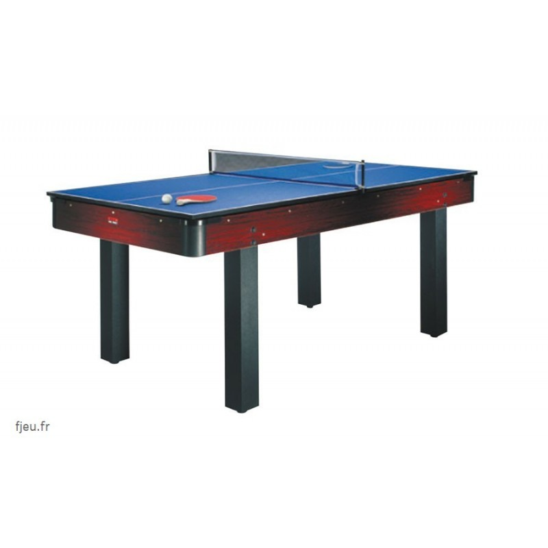 Billard am ricain 6ft transformable table bureau ping pong 3 en 1 - Billard transformable en table ...