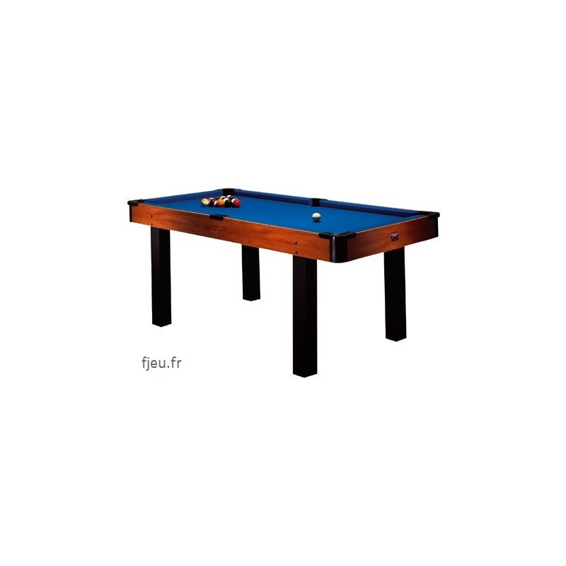 Billard am ricain 6ft transformable table bureau ping pong 3 en 1 - Billard transformable ...