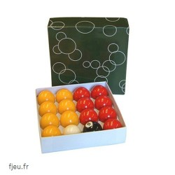 billes boules de pool standard 50.8 mm