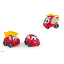 Smoby - 120208 - Vroom Planet - 3 Mb Pompier En Coffret